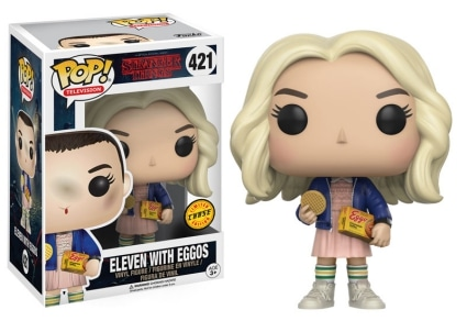 421 Eleven with Eggos Blond Wig Chase Variant